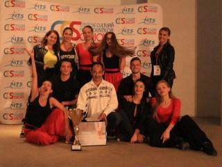 Dansatorii sibieni, premiați la Craiova