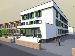 """Școala """"I.L. Caragiale"""" se extinde cu un nou corp de clădire"""