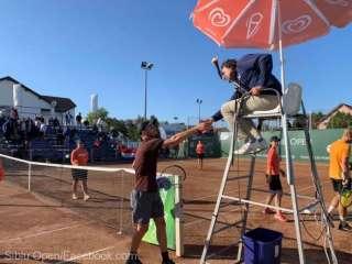 Finala O'Connell – Petrovic la Sibiu Open
