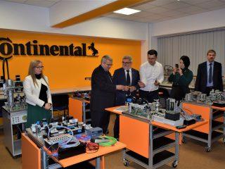 Încă două laboratoare Continental la Facultatea de Inginerie din Sibiu