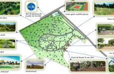 """Parcul Tilișca: 6,2 hectare """"înverzite"""" cu bani europeni"""