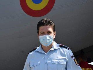Sibianul Joe Stroescu, înaintat în grad după misiunea din Italia