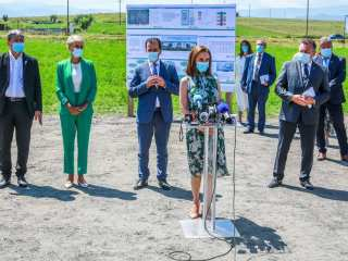 Președinta CJ Sibiu a semnat acordul cu Guvernul României pentru Noul Spital Județean