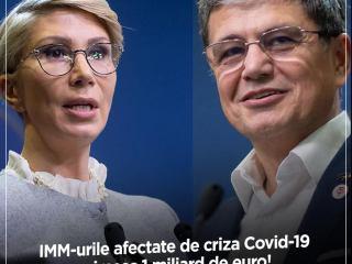 Viceprim-ministrul Raluca Turcan și ministrul Fondurilor Europene, Marcel Boloș