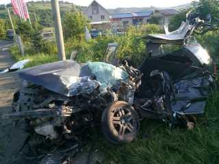 Grav accident pe șoseaua de centură a municipiului Mediaș! Un tânăr a murit după ce a ajuns cu mașina sub un TIR
