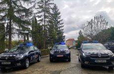 FOTO: Jandarmii sibieni au primit autospeciale noi. Mașinile vor ajunge în municipiile Sibiu și Mediaș