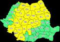 Alertă de instabilitate și ploi în Sibiu. Cod galben de vreme severă azi
