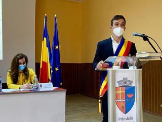 Timotei Păcurar, primarul USR PLUS din Micăsasa, și-a preluat mandatul
