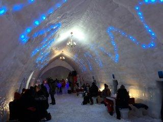 Construcţia singurului hotel de gheaţă este incertă din cauza pandemiei şi încălzirii globale