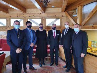 Vizită de lucru în Sibiu a ambasadorului Statelor Unite ale Americii în România, Adrian Zuckerman