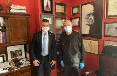 """Teatrul Național """"Radu Stanca"""" Sibiu, vizită oficială a ambasadorului Israelului în România, David Saranga"""