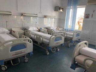 Investiţie de 150.000 de lei în modernizarea instalaţiei electrice în Spitalul CF, singurul cu pacienţi doar cu COVID-19