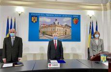 Prefectul Mircea-Dorin Crețu și subprefecții Sanda Ligia Muntean și Laurențiu Theodoru au depus jurământul
