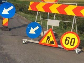 Restricții pe autostrada A1, în zona municipiului Sibiu