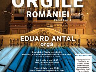 """Turneul naţional """"Orgile României""""ajunge la Sibiu"""