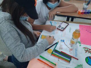 FOTO: Zeci de copii au învățat despre sursele de poluare și colectarea selectivă a deșeurilor