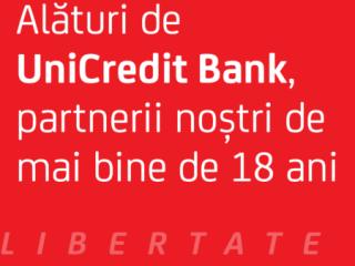 UniCredit Bank, de 18 ani alături de FITS!