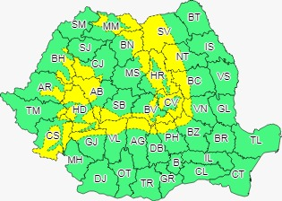Vânt puternic în Sibiu! Va sufla chiar și cu 100 km/h
