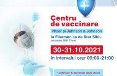 Vaccinează-te în acest weekend la Sala Thalia! Un nou maraton de vaccinare fără programare