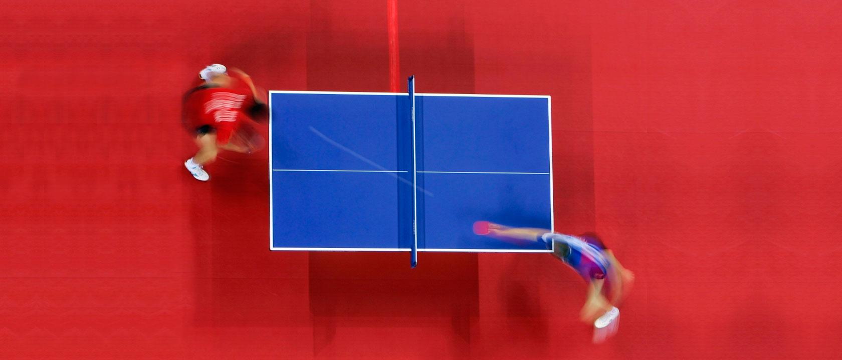 Cunto mide una mesa de ping pong profesional  Mesa de