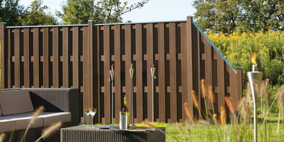 terrassen sichtschutz wpc - boisholz,