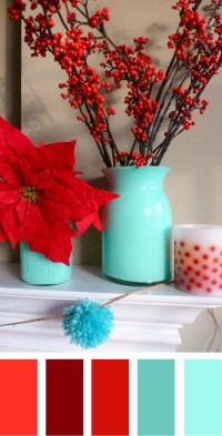 Christmas Color Palettes - The Sewing Rabbit