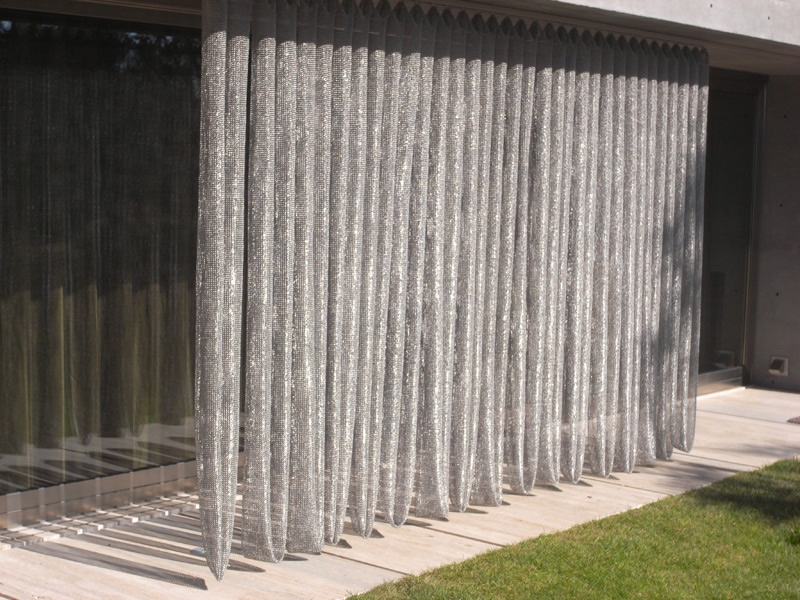 Scale Mesh Curtain  An Elegance and Gorgeous Curtain