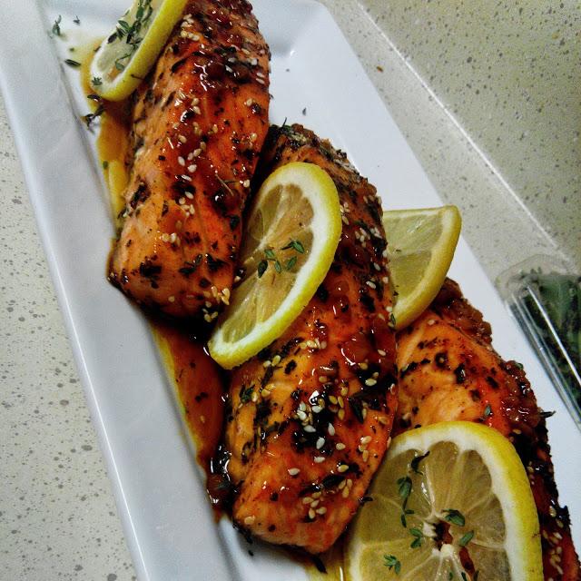 Asian Style Glazed Salmon