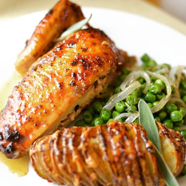 Mesha's Honey Roasted Chicken