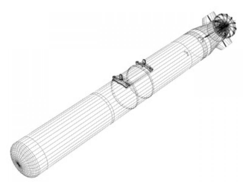 Mk-50 Torpedo [ALWT] 3d Model by Mesh Factory