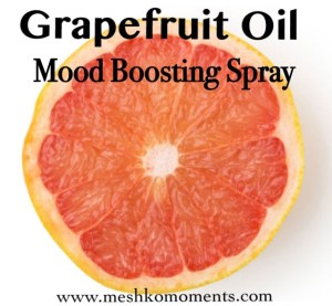 Grapefruit Essential Oil – Mood Boosting Spray