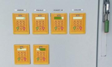 Parker 890 Plastic Web Line System Upgrade