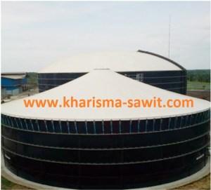 4 tahap pembuatan biogas dari limbah kelapa sawit