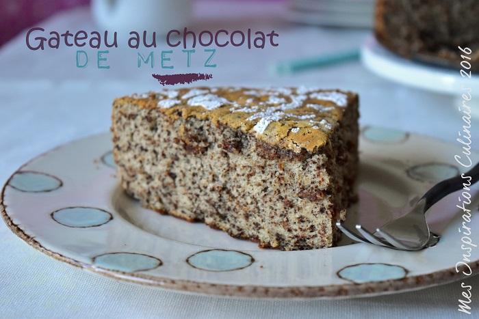 Gteau au chocolat de Metz  Le Blog cuisine de Samar