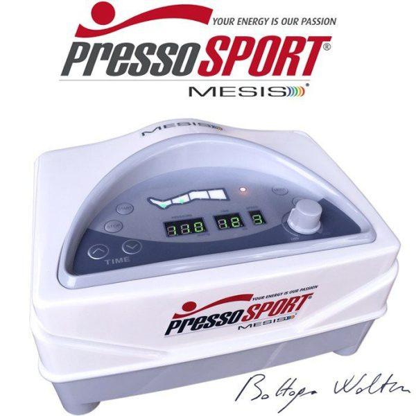 PressoSport® del Dr. Walter Bottega by Mesis® pressoterapia per lo Sport e il recupero muscolare