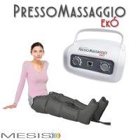 Pressoterapia PressoMassaggio EkÓ con 2 gambali, per contrastare la ritenzione idrica.