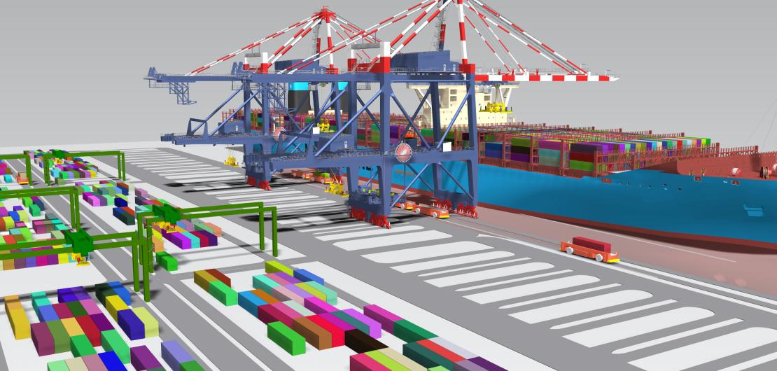 Simulation: Container Terminal