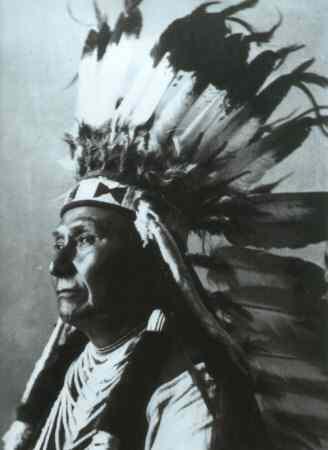 Chief Joseph Huptling der Nez Perc