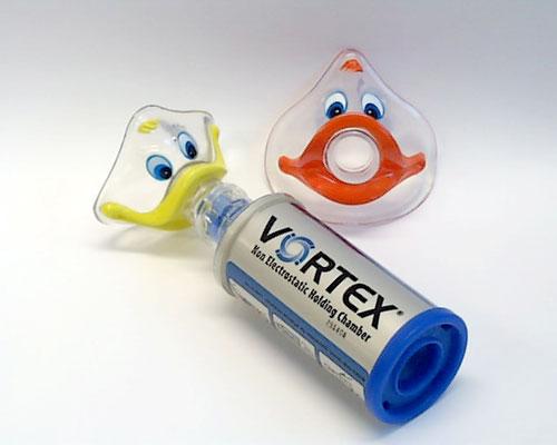 Chambre Inhalation Vortex