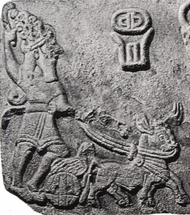 https://i0.wp.com/www.mesopotamiangods.com/wp-content/uploads/2014/08/2j-Teshub-in-a-chariot-pulled-by-Taurus.jpg