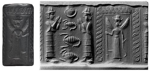 42 Minor Anunnaki Gods SlideShow Mesopotamian Texts