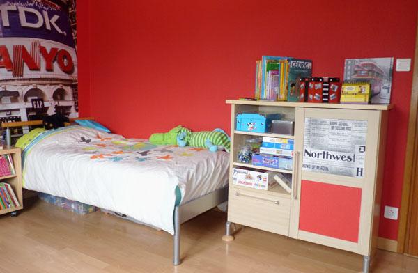 chambre bebe rouge et gris gallery