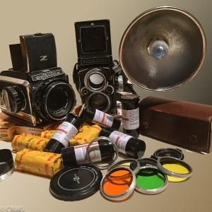 Rolleiflex et Bronica