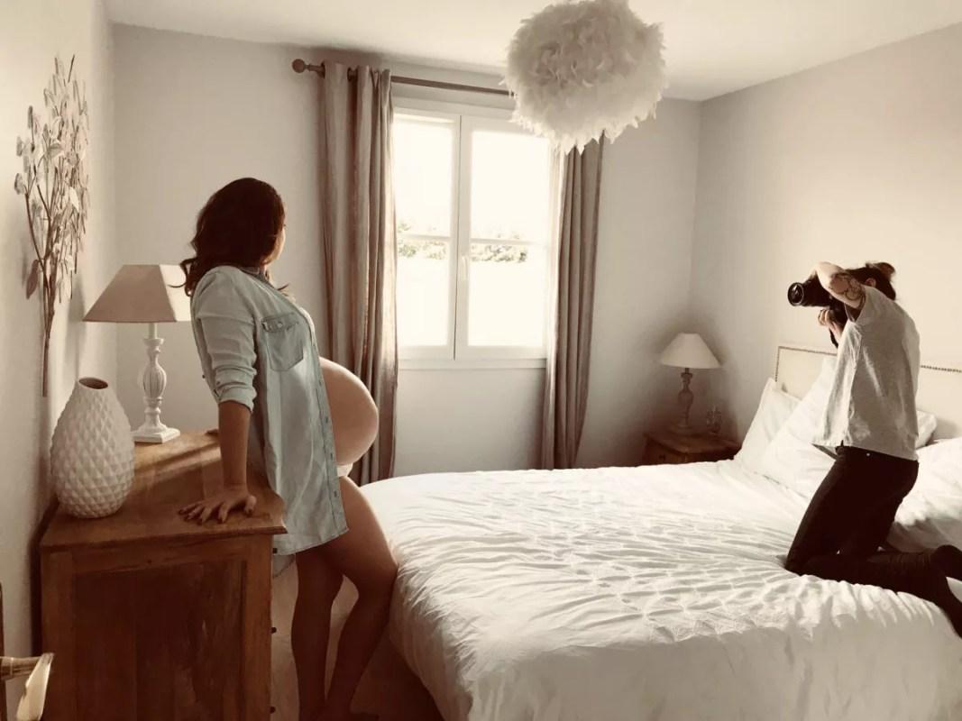 seance photo grossesse à domicile Essonne Yonne