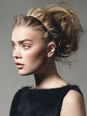 idée coiffure séance photo grossesse