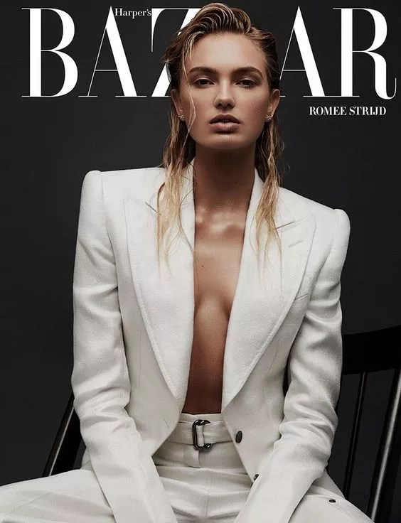 HarpersBazaar Grece - modèle: Romee Strijd par Adam Franzino