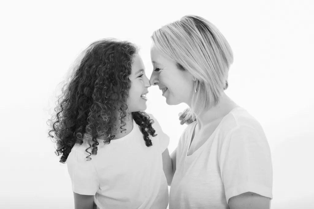 portrait complice mère et fille