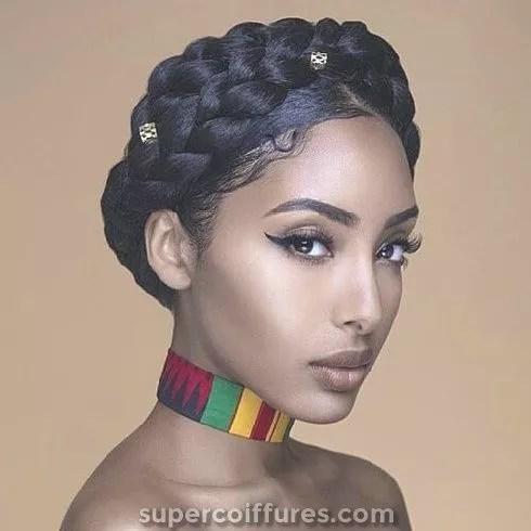idée coiffure afro pour seance photo