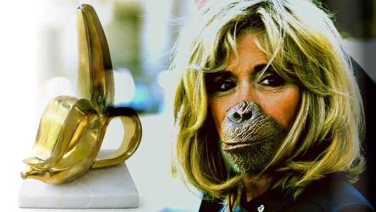 Brigitte-MACRON-singe