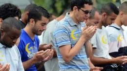 Croissant islam jaune